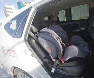 Taxi en Málaga con silla para bebé