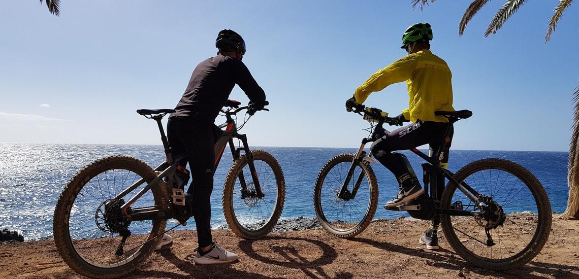 Rutas en bici en Tenerife para ciclistas consumados y las familias