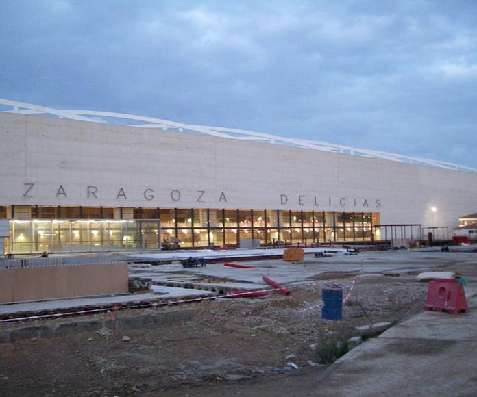 Rehabilitación de forjados en Estación del AVE de Zaragoza