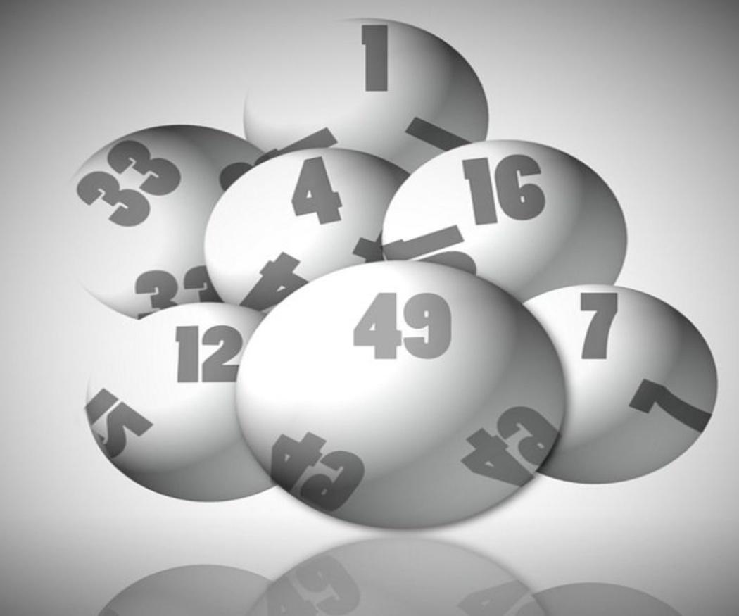 La visualización y jugar a la lotería