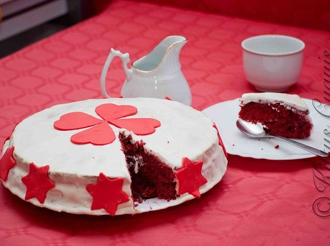 El origen de la tarta red velvet