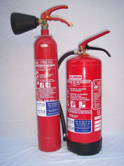 Extintores: Prestaciones de Santa Rosa