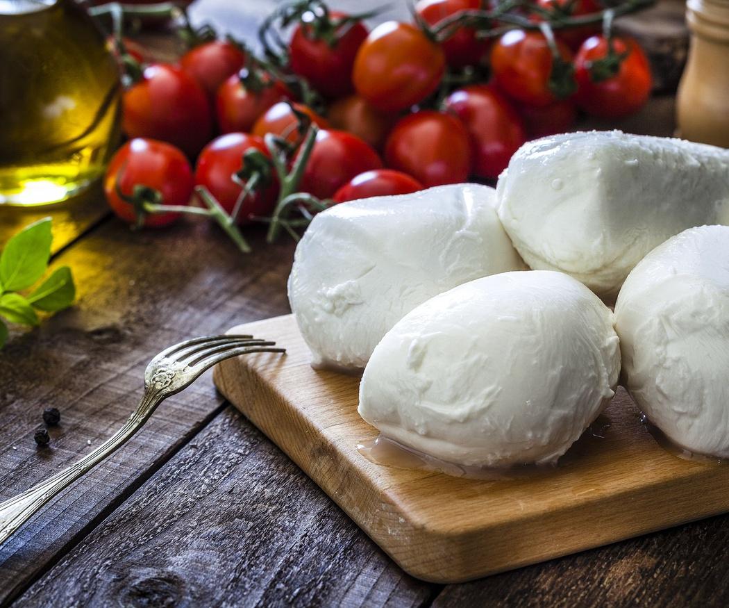 El origen de la mozzarella