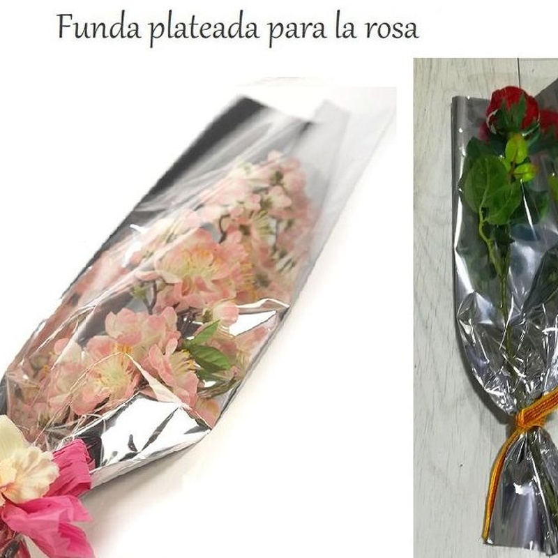 PQTE x100UD BOLSA PLATEADA 35my (16 x 50CM) REF: P-011UNN-50 PRECIO: 6€/PQTE