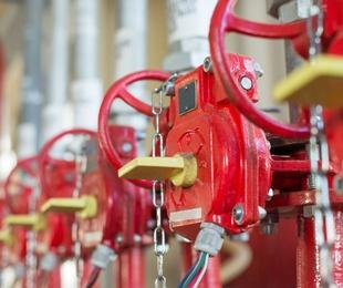 Puntos de control de sprinklers