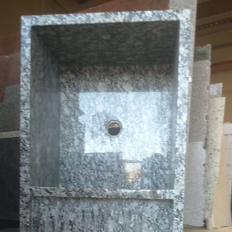 Fregadero granito gris con escurridor