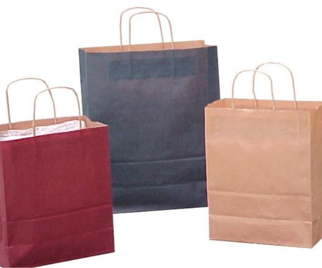 Bolsas de papel para ayudar al medio ambiente