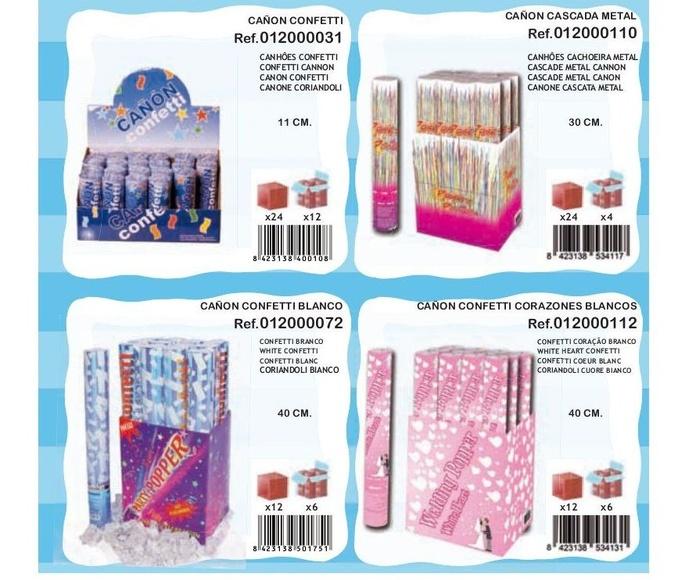 Cañones confetti: Productos de Verbetena