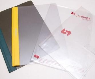 Carpetas de polipropileno: Catálogo de productos de Exclusivas Goimar, S. L.