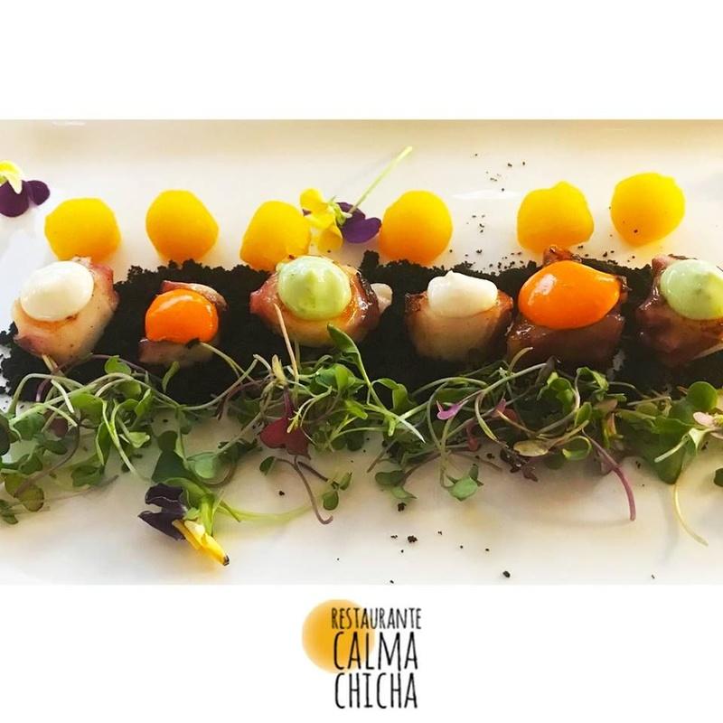 Sampler menu: Our Services de Restaurante Calma Chicha