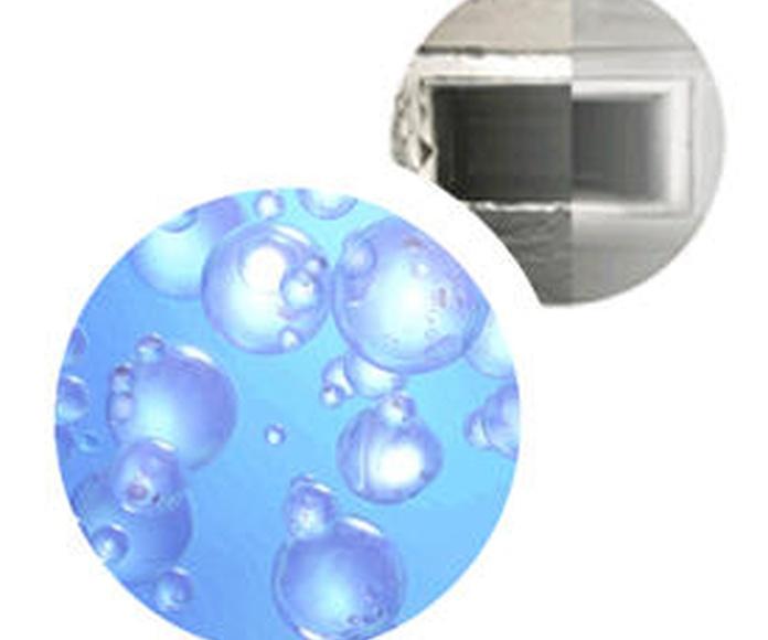 Limpieza y desinfección de conductos