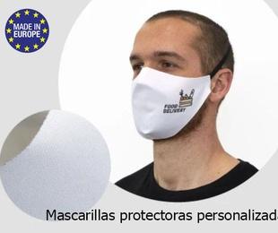 Mascarillas protectoras