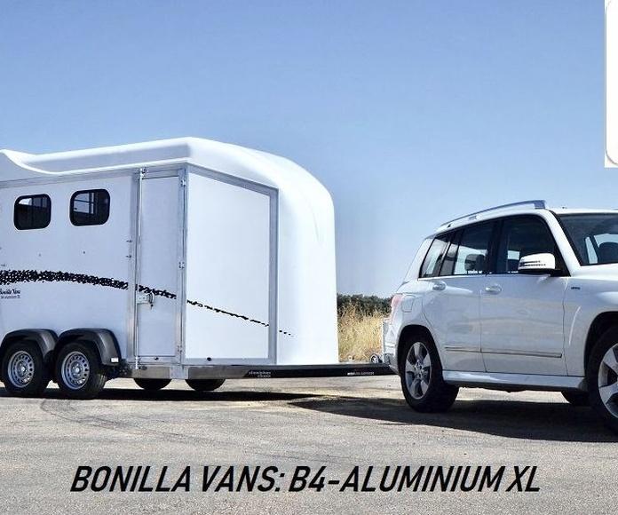 REMOLQUE DE CABALLOS BONILLA VANS: B4-ALUMINIUM XL