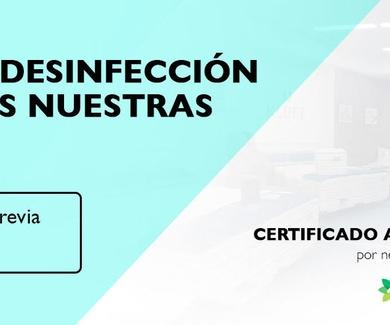 Cita previa segura, Certificado Anticovid 19