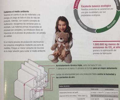 FABRICACIÓN DE LA VENTANA EXCELENTE BALANCE ECOLÓGICO