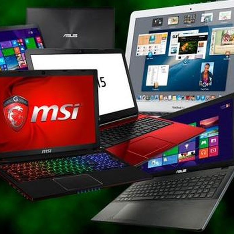 Portatiles notebooks gama msi hp asus apple retina