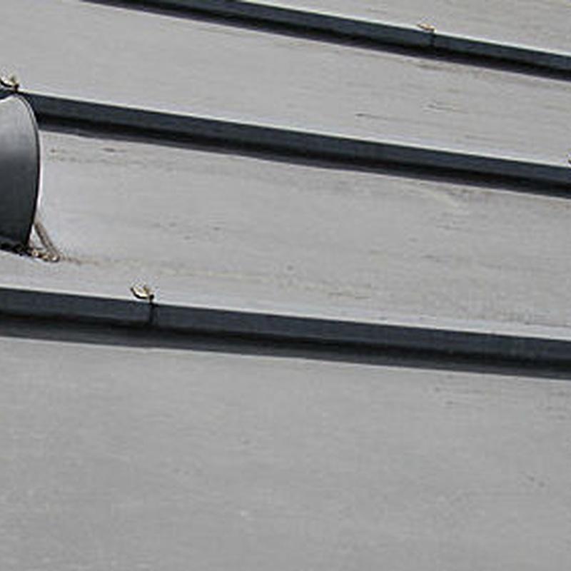 Revestimientos con zinc: Servicios de Canalones Víctor y Óscar