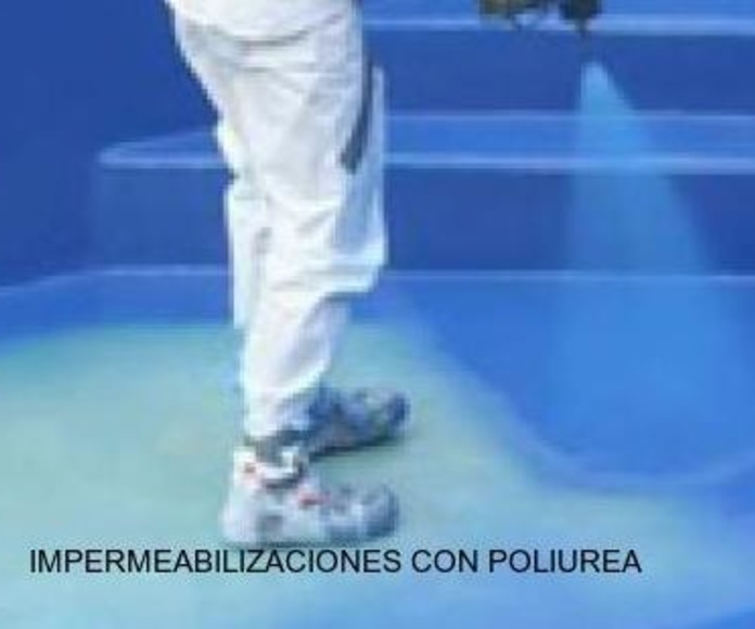 Impermeabilizaciones con poliurea