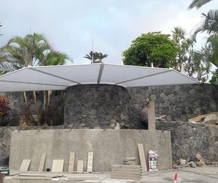 Instalación de techo flotante