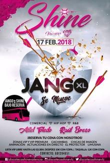 JANGO en discoteca Shine, sábado 17 de febrero