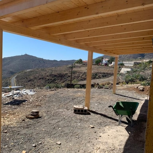Pérgolas de madera Tenerife