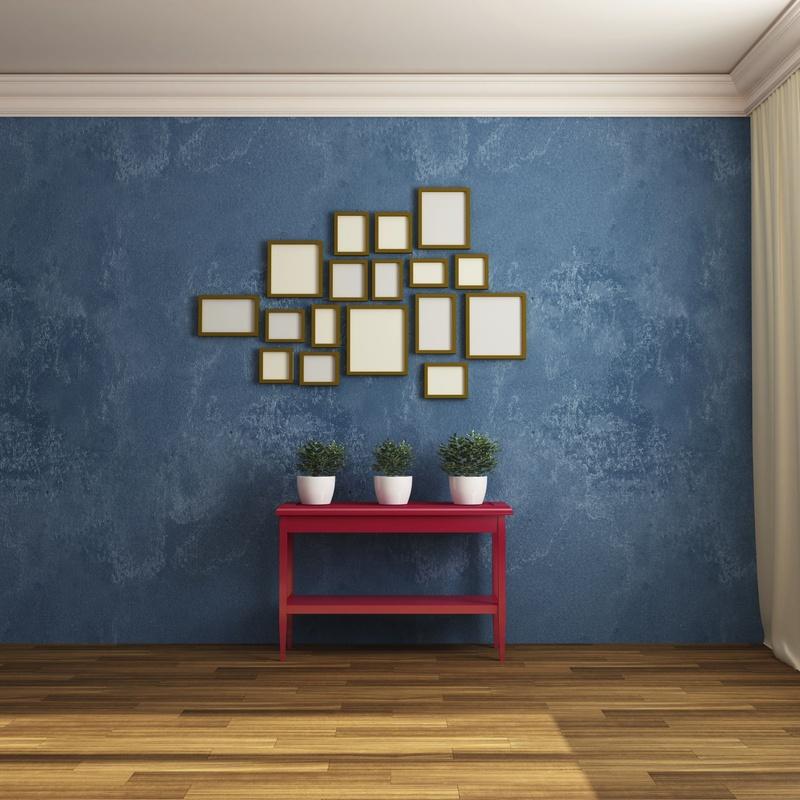 Pintura de alta decoración