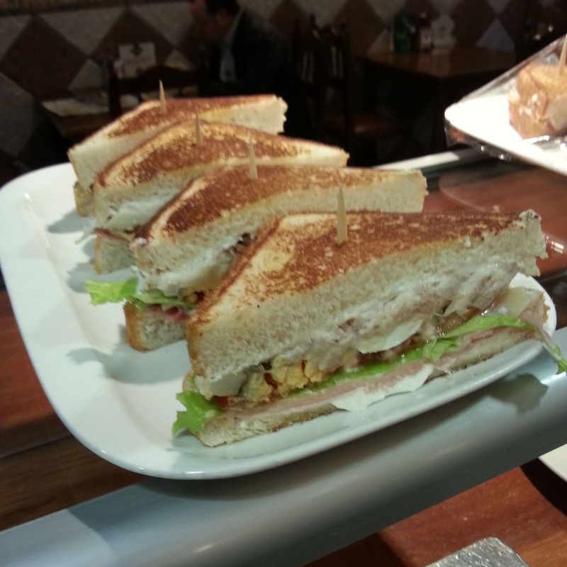 Sándwiches :  de Taberna Unai