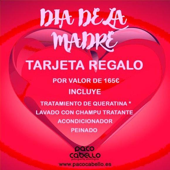 Día de la Madre. Tratamiento pack Queratina: Servicios de Paco Cabello Peluquería Ecológica Orgánica