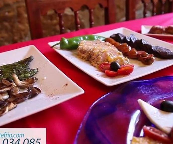 Gastronomía en Montefrío