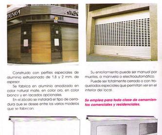 Tijera de acordeón: Productos y servicios de Construcciones Metálicas Enrique Barrio, S. L.