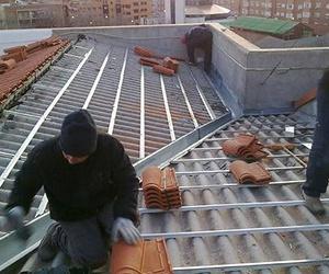 Realización de tejados nuevos