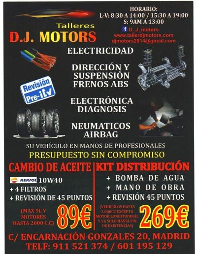 Todos los productos y servicios de Talleres de automóviles: Dj Motors