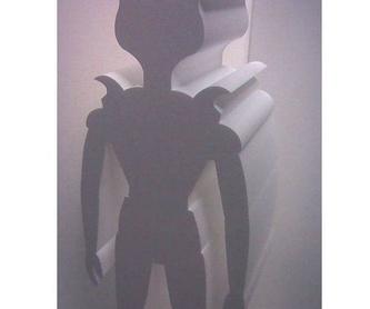 INICIALES 3D GIGANTES DE CORCHO BLANCO A MEDIDA ( POLIESPAN,POREXPAN,EPS ): Productos de Embadiseños