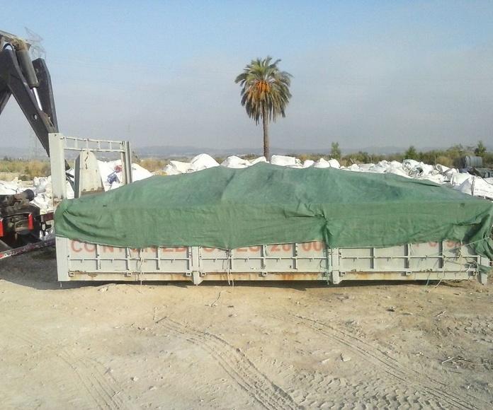 Gestion de residuos Murcia, Recogida de residuos Murcia, Retirada de residuos Murcia, Contenedores Murcia
