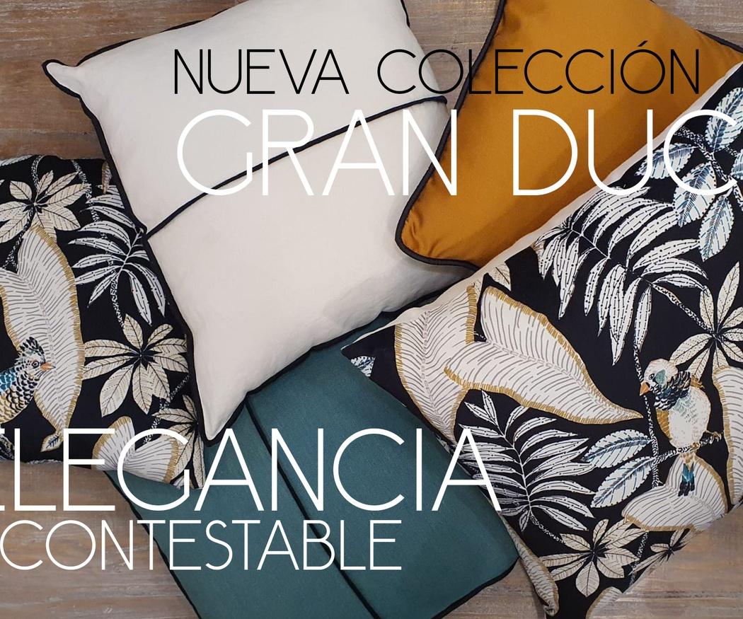 Colección Cojines Gran Duc
