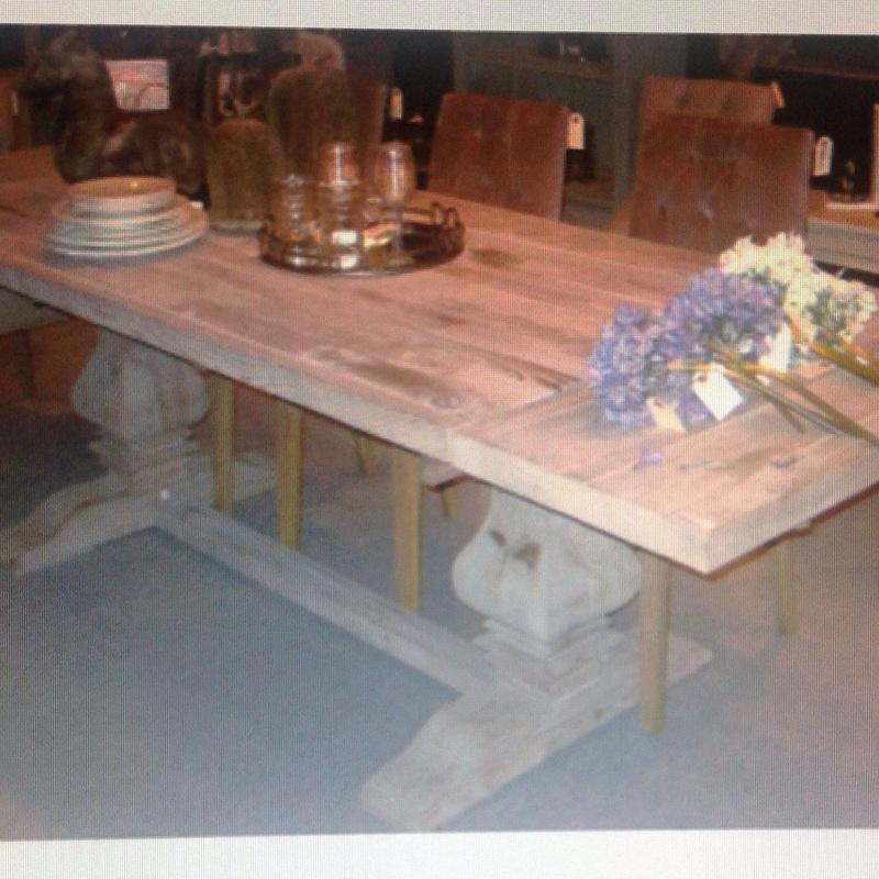 Mesa comedor madera : Catálogo de Ste Odile Decoración