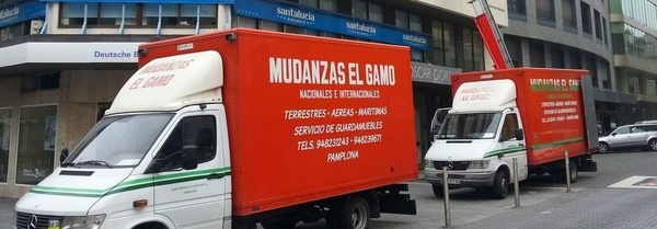 Guardamuebles en Pamplona, Navarra: Catálogo de Mudanzas Gamo