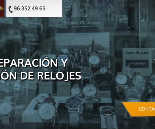 Venta de relojes en Valencia - Relojería Sánchez