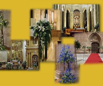 Arreglos funerarios : Catálogo de Floristería Mª Teresa