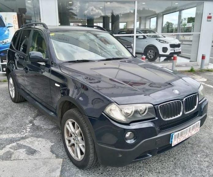 BMW X3 2.0D CON TECHO PANORAMICO Y ENGANCHE DE REMOLQUE!! : Compra venta de coches de CODIGOCAR