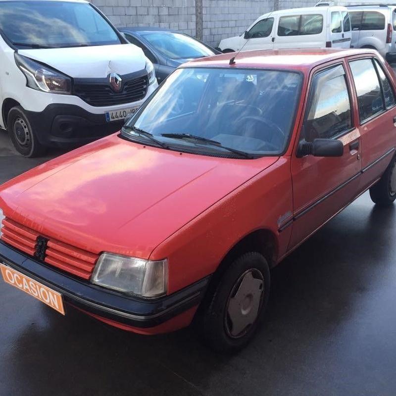 Peugeot 205D 1.8D 60CV:  de Ocasión A Lagoa