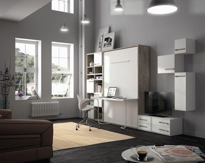 Cama abatible con mesa estudio: Nuestros muebles de Muebles Aguado
