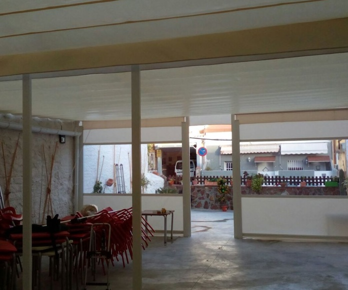 Toldos para hostelería en Málaga