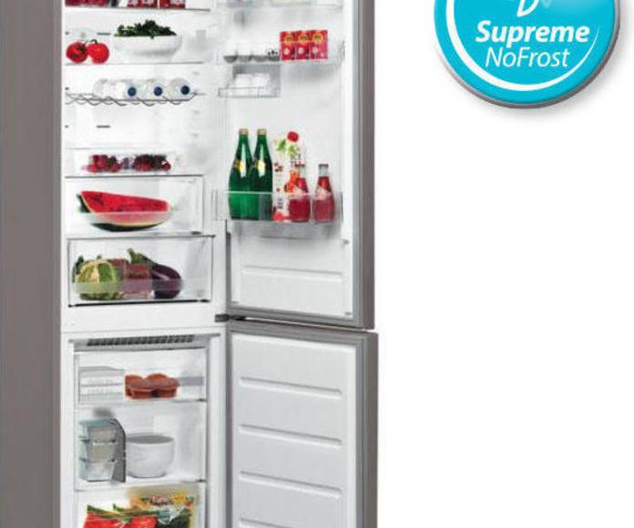 Frigorifico Combi WHIRLPOOL BSNF8152OX Nofrost ---449€: Productos y Ofertas de Don Electrodomésticos Tienda online