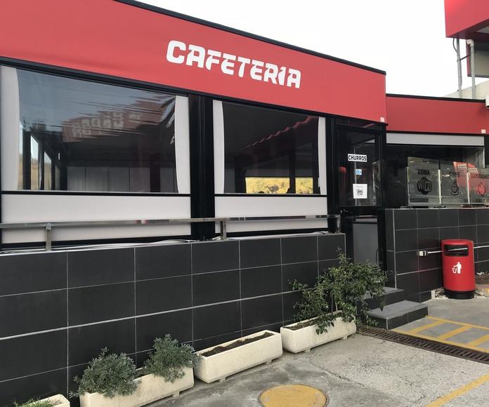 Cafetería, bar y restaurante: Servicios de Cepsa Cajiz