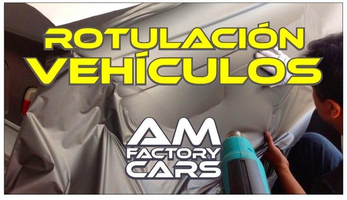 Rotulación vehículos: Servicios de AM Factory Cars