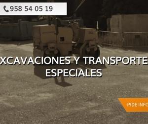 Movimientos de tierra en Granada | Transportes Juan Aguilar - El Peña