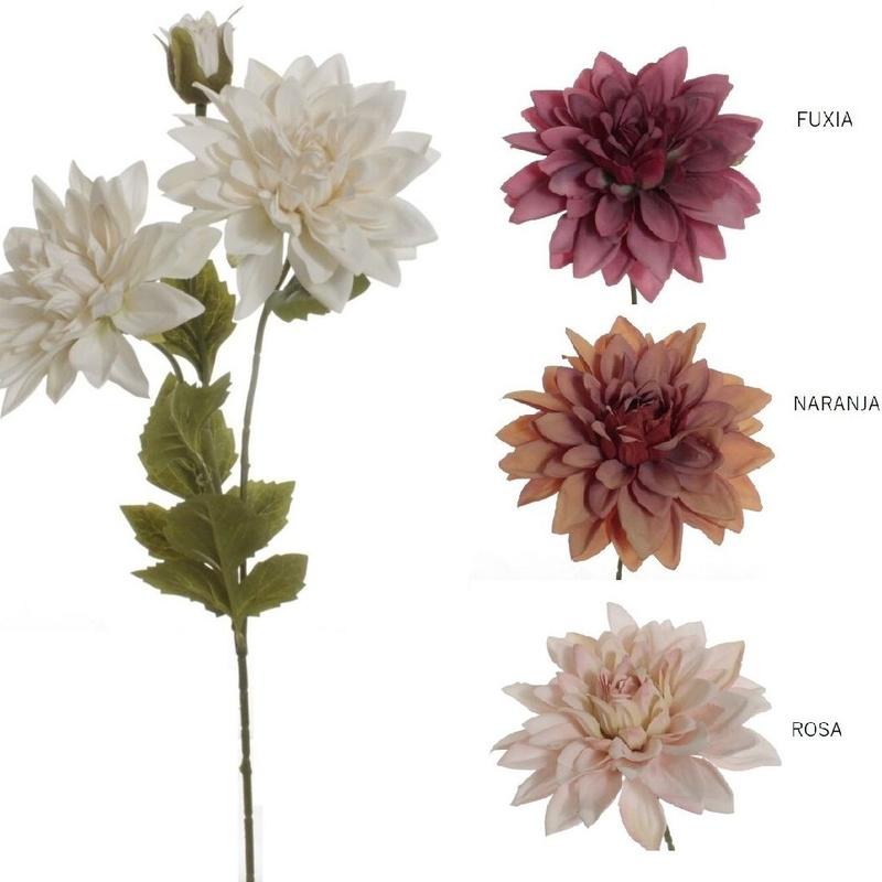 VARA DALIA X3 COLORES: BLANCO, FUXIA, NARANJA Y ROSA REF: 3097+(COLOR) PRECIO:  1,80€/UD