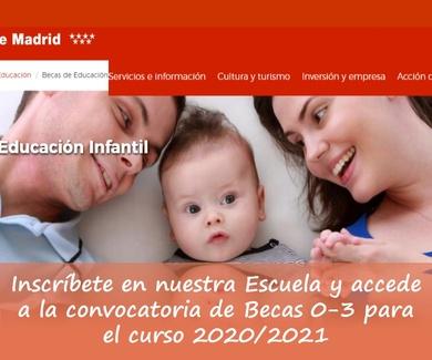 Becas curso 2020/2021
