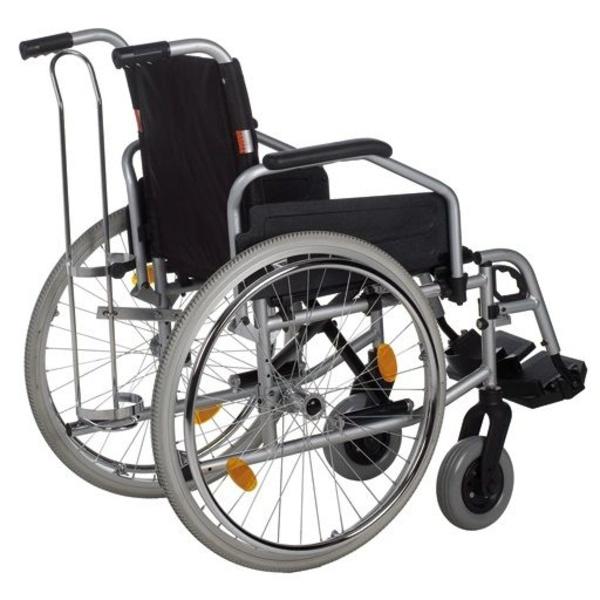 Porta oxígeno para silla de ruedas
